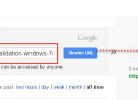 วิธีการแปลง url ผ่าน http://goo.gl บริการของ Google