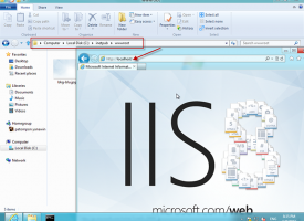 ติดตั้ง IIS Windows 8.1