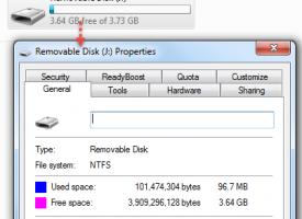 วิธีการเปลี่ยน USB จาก FAT32 เป็น NTFS