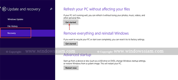 Refresh-Windows8.1