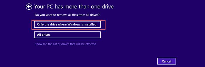 Reset-Windows 8.1 Step4