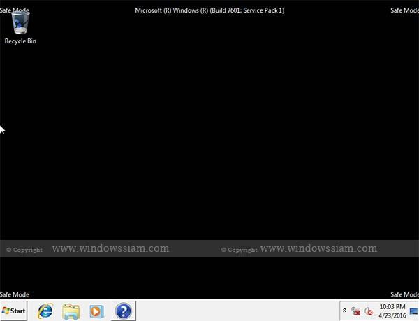 SafeMode-Windows7-Desktop