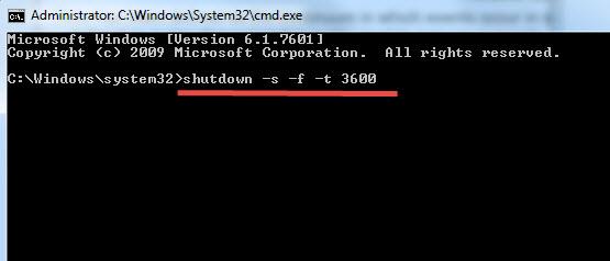 Shutdown-Windows-Timer
