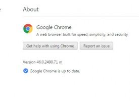 ตรวจสอบเวอร์ชั่นและอัพเดท Google Chrome