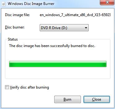 Windows Disc image Burner4