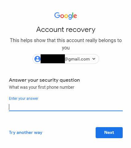 ลืมรหัส Gmail-4