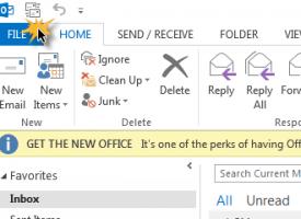 วิธีการ Compact Outlook file เพื่อลดขนาดของ file .pst