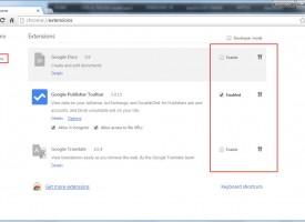 เพิ่ม-ลด Google Chrome Extensions