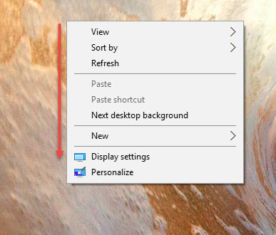 Display Setting Windows 10 3