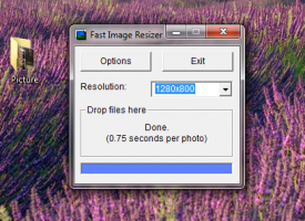 Fast Image Resizer โปรแกรมย่อขนาดรูป