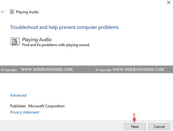 Fix-Sound-Windows 10 step8