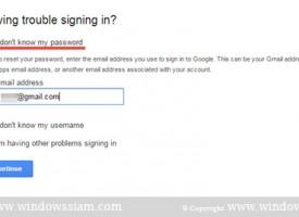 ลืมรหัสผ่าน @Gmail ควรทำอย่างไร ??