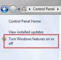 Gadgets Windows 7 step2