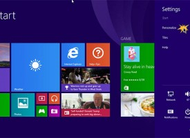 ปรับ Personalize Windows 8.1