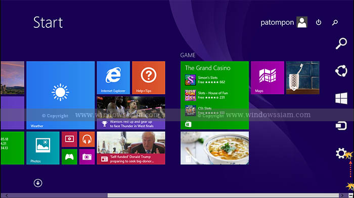 Personalize Windows 8.1 settings
