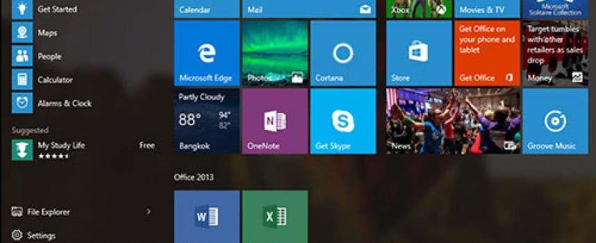 Pin to Start – Pin to Taskbar ของ Windows 10 คืออะไร