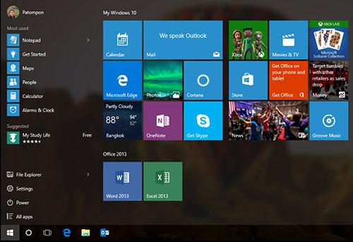Pin to Start Taskbar Windows 10 Cover