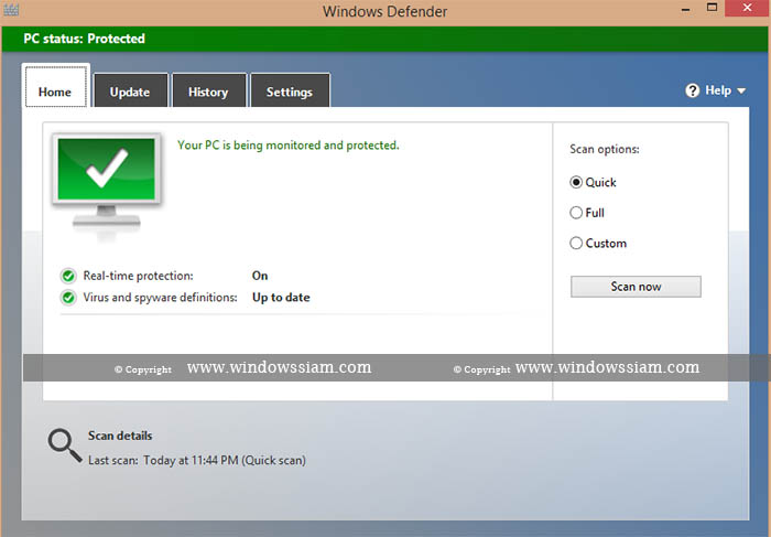 Windows 8.1 Defender Protected