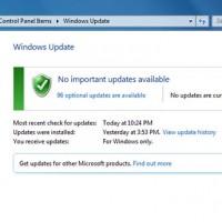 วิธีอัพเดท Windows 7