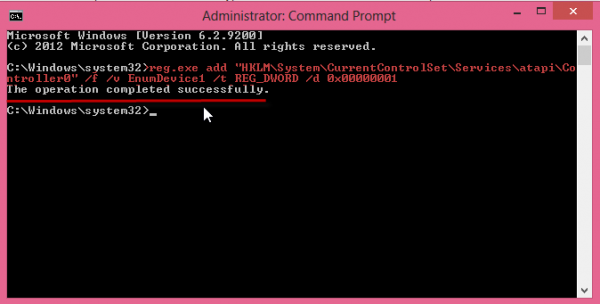 Windows8-Drive command