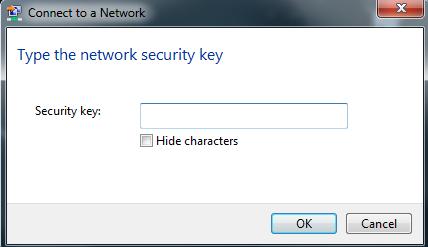 Wireless-Windows 7 password