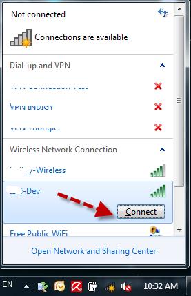 Wireless-Windows 7 step2