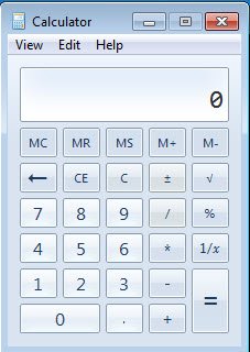 calculator-windows7