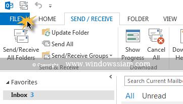 set-font-Microsoft Outlook