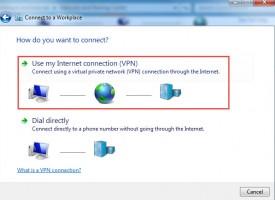การตั้งค่า VPN สำหรับ Windows 7