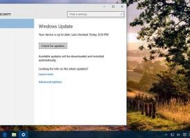 อัพเดต Windows 10