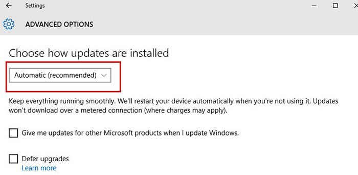 Update Windows 10 -6