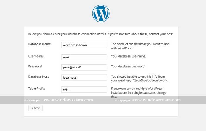install wordpress 3