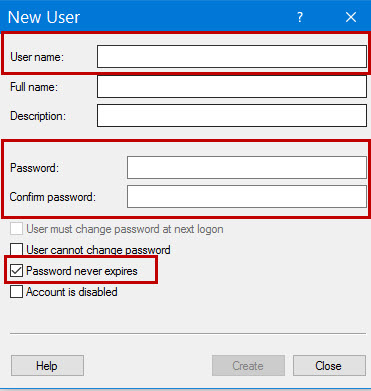 Add User Login Windows 10 -2