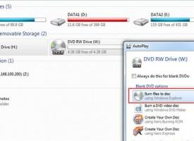 สอนการไรท์แผ่นแบบ Like a USB Flash Drive ใน Windows