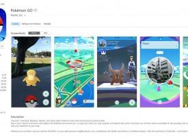 ดาวน์โหลด เกมส์ Pokemon Go บน iPhone , iPad