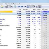 TreeSize Free ตรวจสอบขนาดไฟล์ในคอมพิวเตอร์