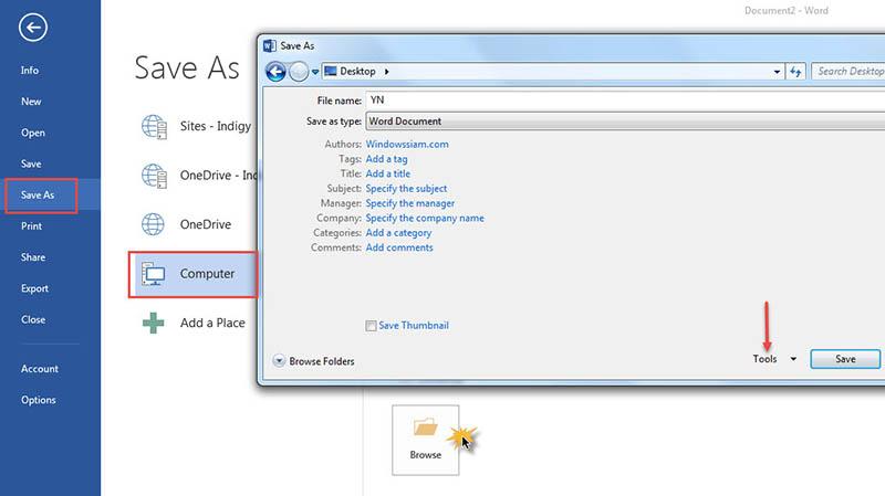 Password-Microsoft Word-2