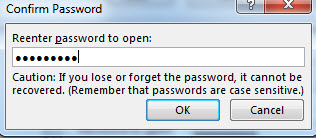 Password-Microsoft Word-5