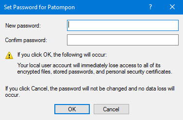 Set user password Windows 10 -4