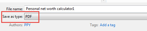 Microsoft Excel Save PDF File-4