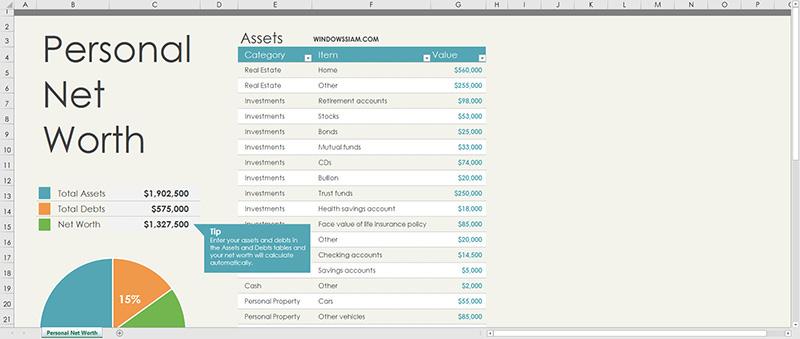 Microsoft Excel Save PDF File