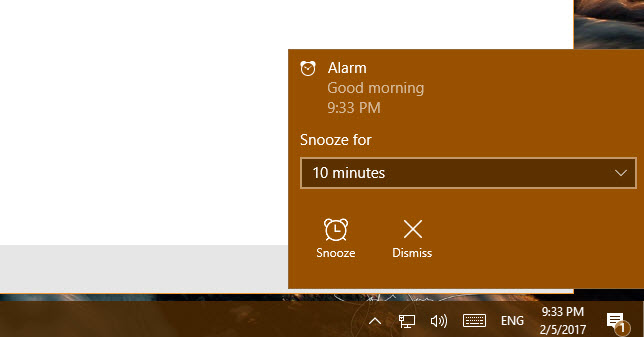 Alarms Clock Windows 10 Search 2
