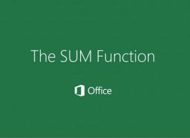 การ SUM ข้าม Sheet Microsoft Excel
