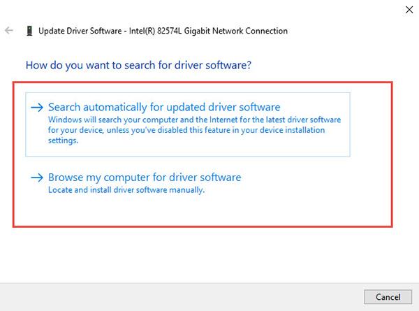 Update drivers Windows 10 -3
