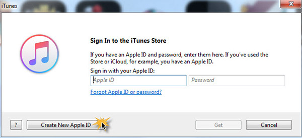 Register Apple ID with iTunes 12 -2