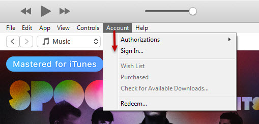 Register Apple ID with iTunes 13