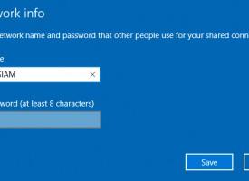 แชร์อินเตอร์เน็ต Windows 10 ด้วย HotSpot