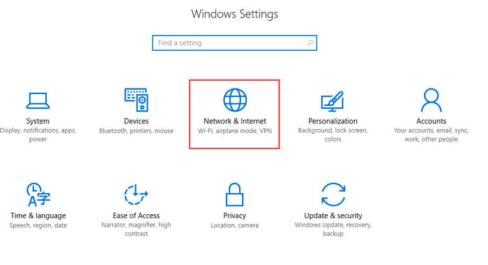 Share internet Windows 10 setting-2