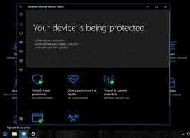 แอนตี้ไวรัสฟรี WINDOWS 10 – Windows Defender Security Center