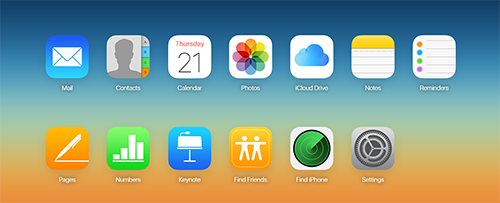 iCloud-Apple-Services
